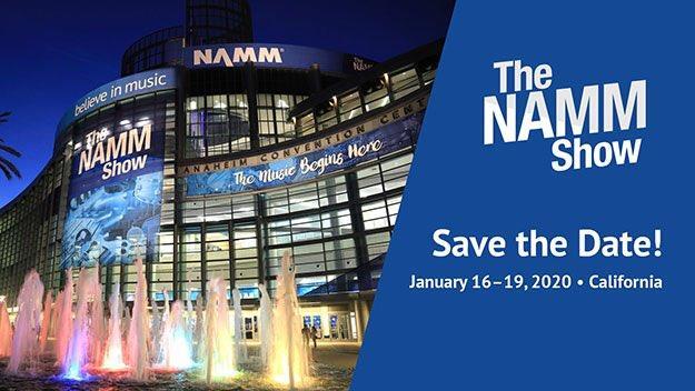 PMC на выставке музыкальной индустрии NAMM 2020